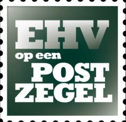 Eindhoven's trots op een postzegel
