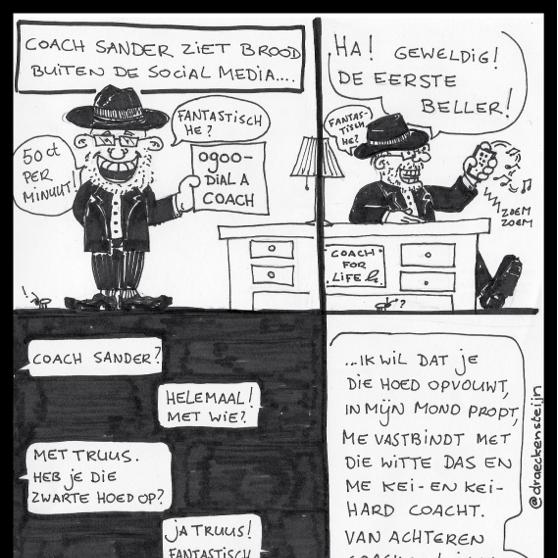 CoachSander Cartoon