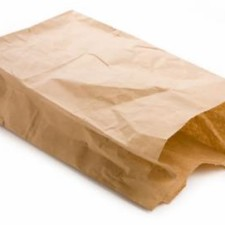 mijn Valentijnsgevoel: een bruin papieren zakje…