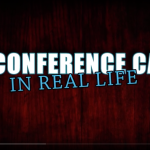 een conference call… in real live!