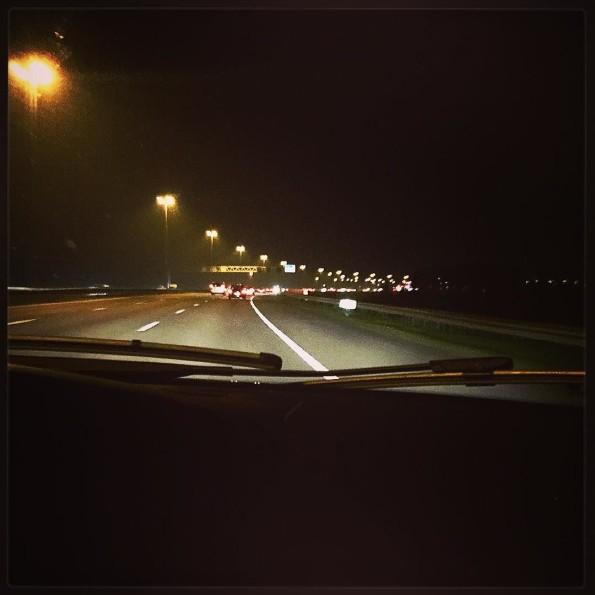 kort verhaal: herinneringen aan vroeger op de snelweg