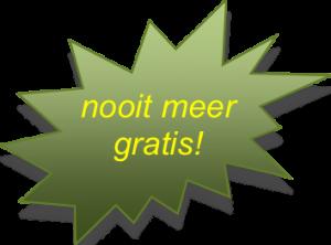 Nooit Meer Gratis - CoachSander.nl