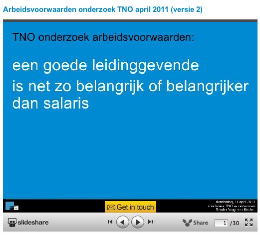 TNO onderzoek - CoachSander.nl