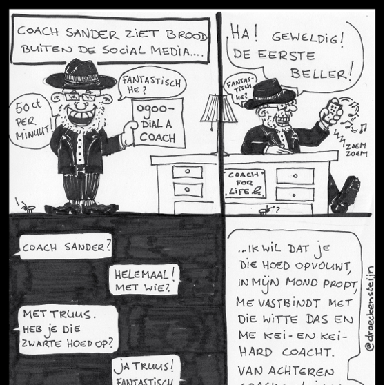 cartoon CoachSander - CoachSander.nl