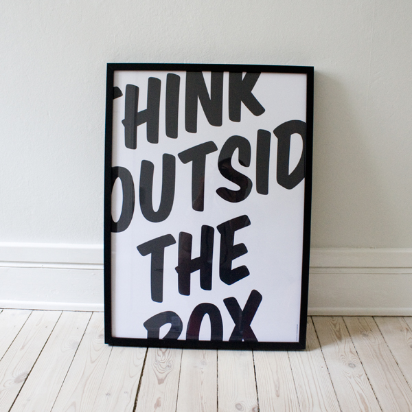 Think outside the box - CoachSander.nl