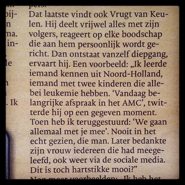 Twitter-moment van 2013 - CoachSander.nl