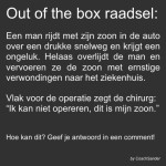 Out of the box raadsel…