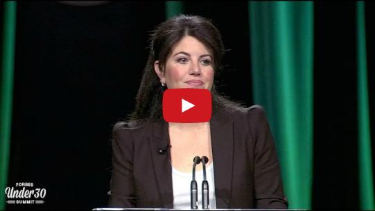 Monica Lewinsky tells her own story - CoachSander.nl