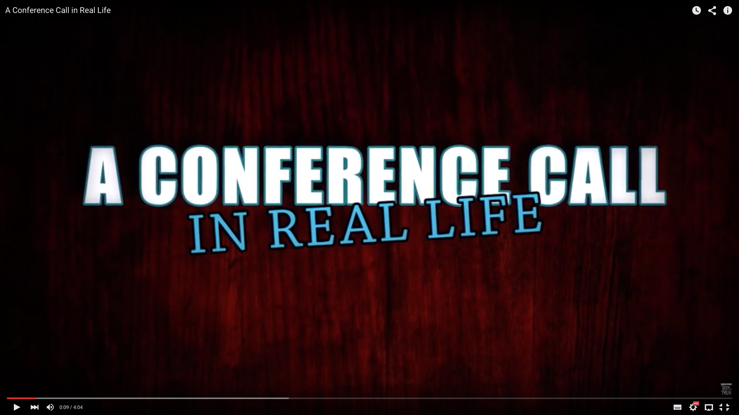 een conference call... in real live! - CoachSander.nl