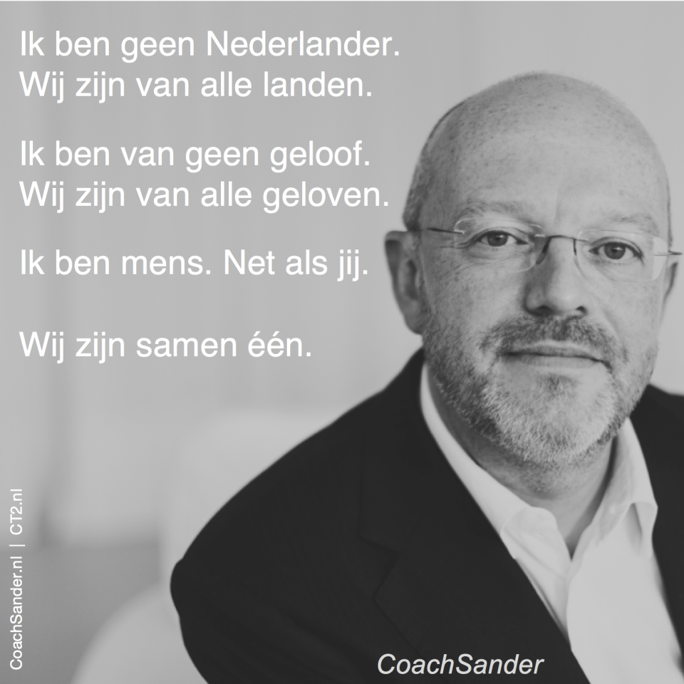 wij zijn samen een -- CoachSander.nl