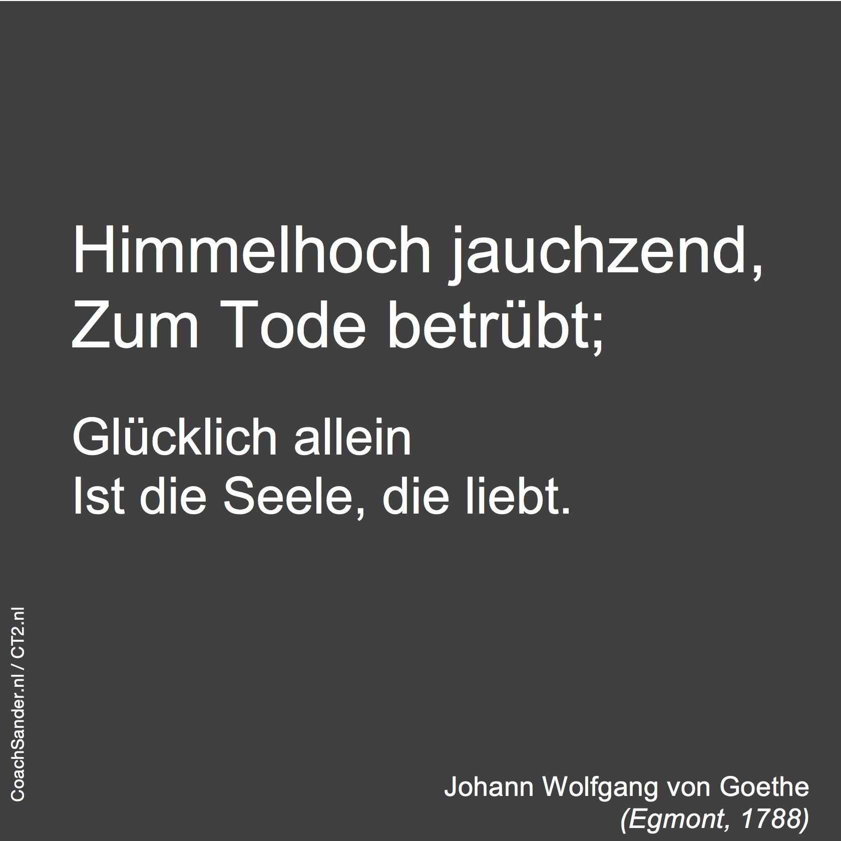 Himmelhoch jauchzend - CoachSander.nl
