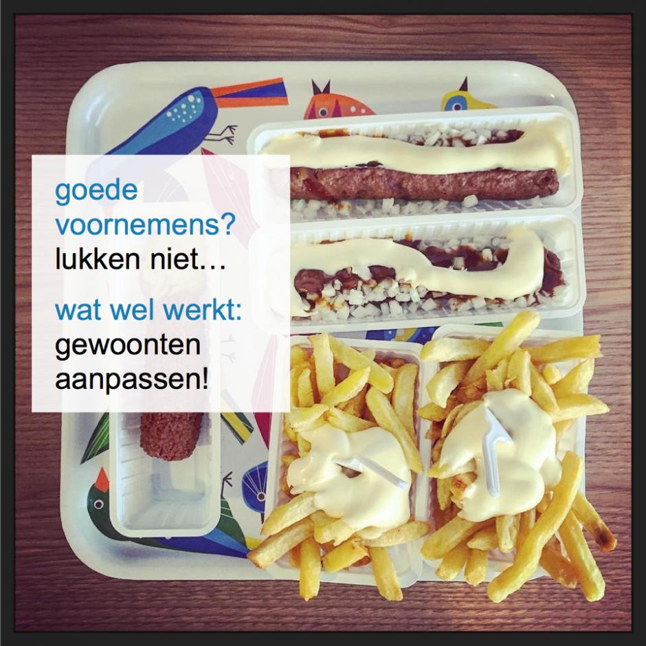 goede voornemens werken niet, gewoonten aanpassen wel! - CoachSander.nl