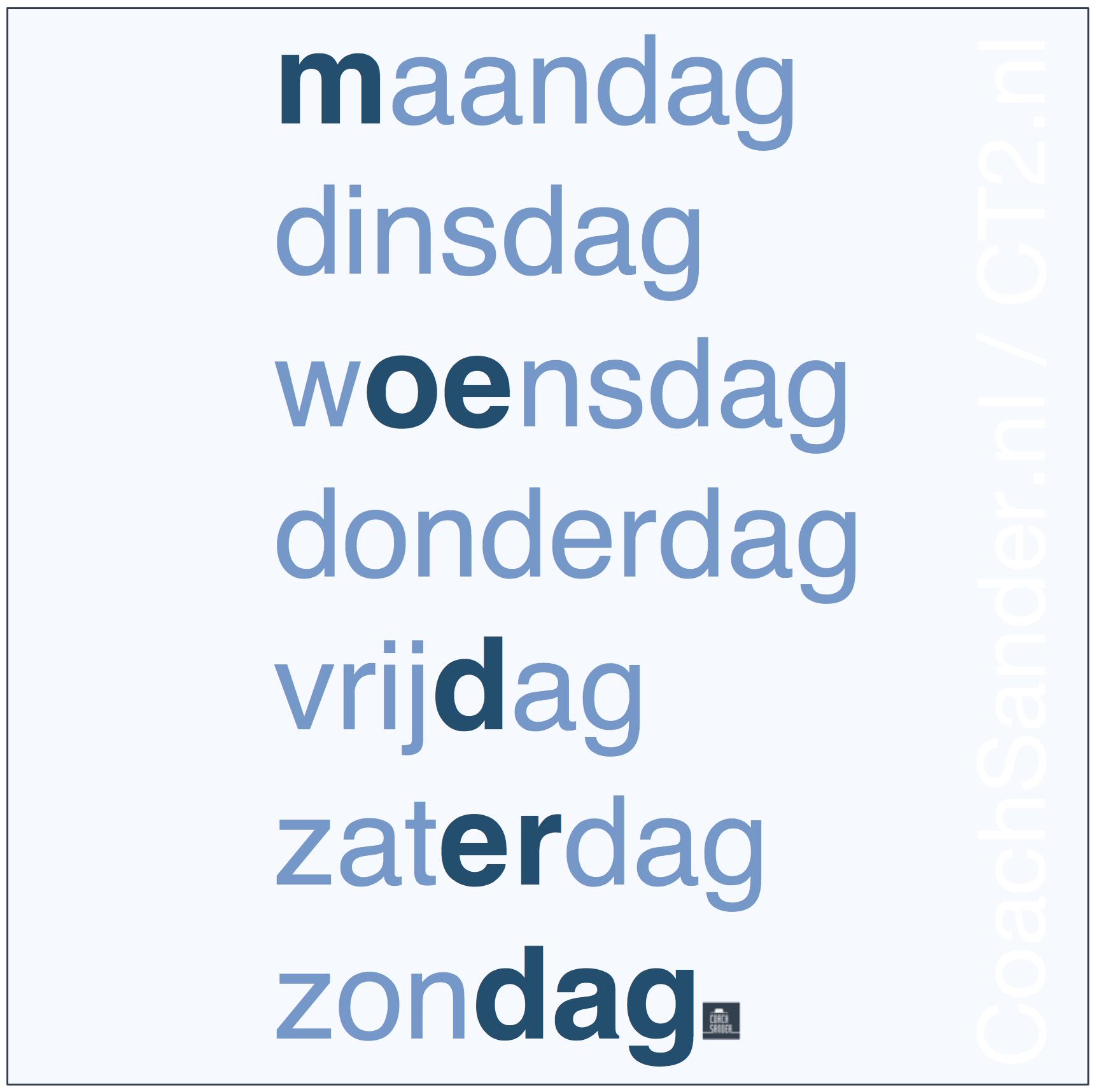 Moederdag zonder moeder... elke dag Moederdag - CoachSander.nl
