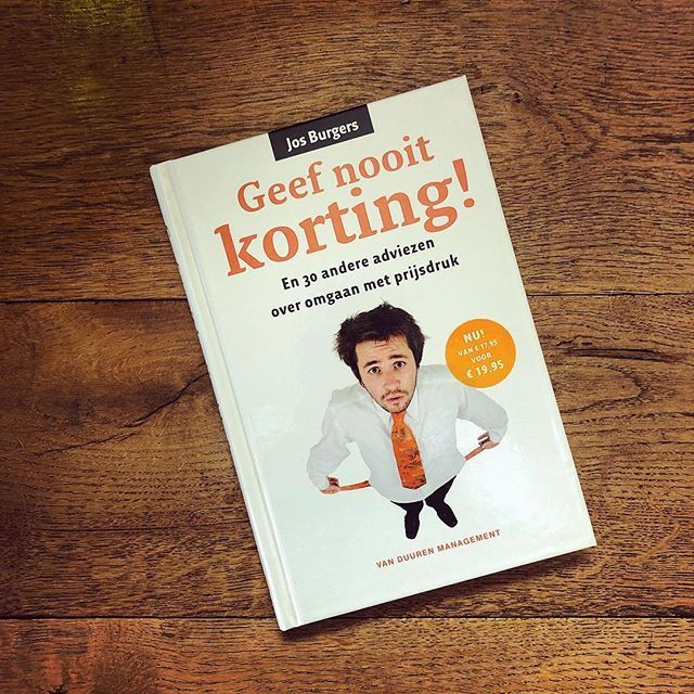 Geef nooit korting - boekreview - CoachSander.nl