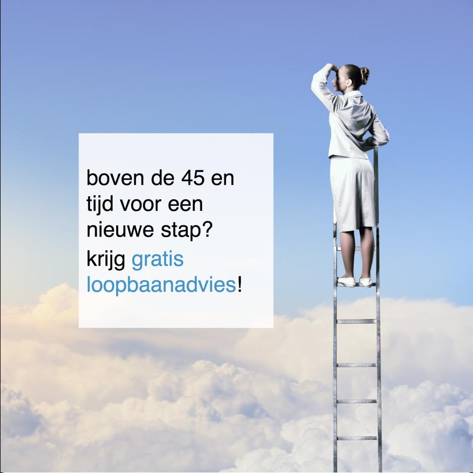boven de 45 en tijd voor een nieuwe stap krijg gratis loopbaanadvies - CT2.nl