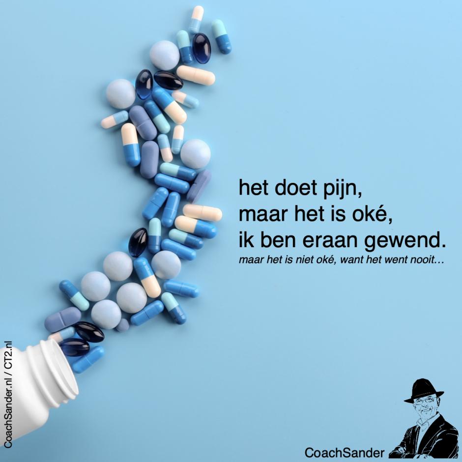 het doet pijn - CoachSander.nl