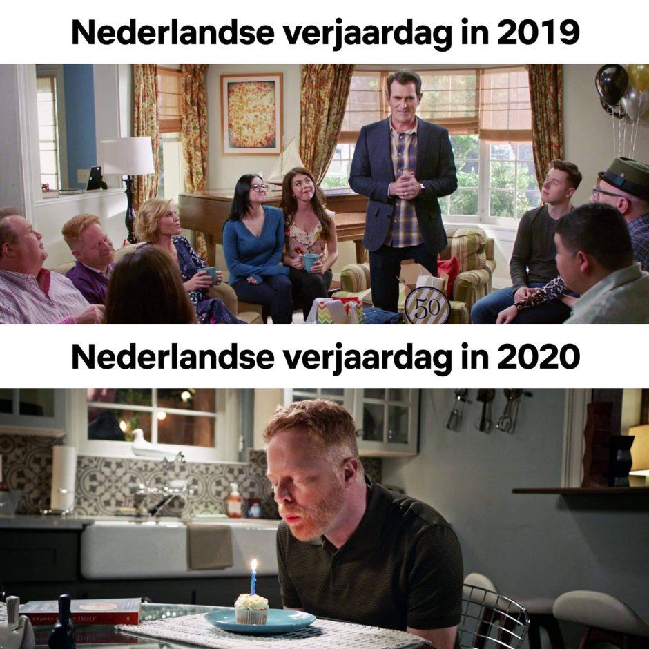 geen verjaardagspartijtje - CoachSander.nl